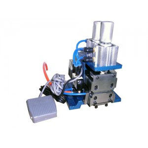3F pneumatic wire stripping machine for core wire insulation stripping.