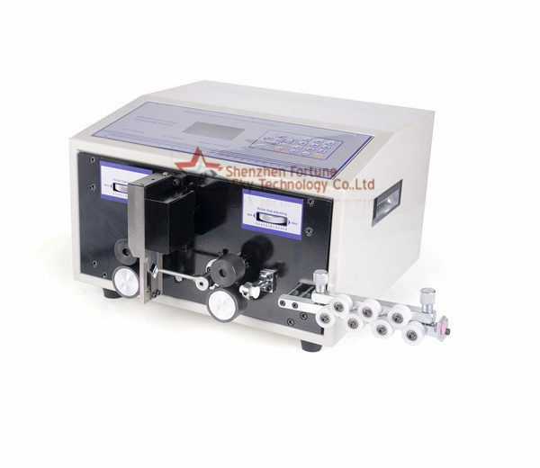 0.1-4.5sqmm automatic wire cutting stripping machine, wire stripper machine for hookup wire
