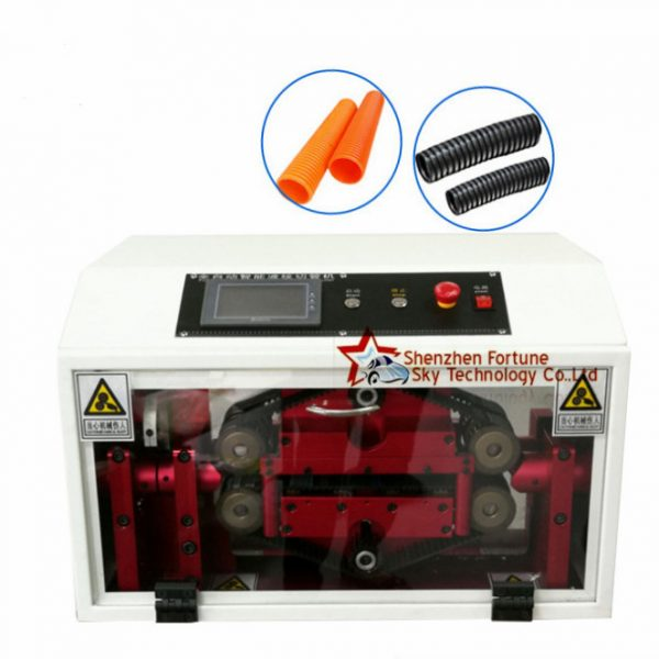 automatic corrugated tube cutting machine