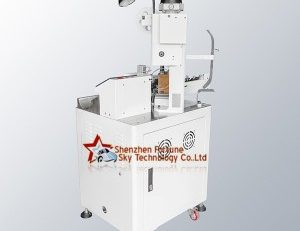 Fully Automatic Gold Plated Contact Wire Lug Crimping Machine