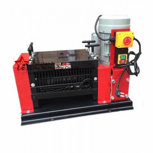 cable stripping machine for scrap copper recycling, wire stripper machine for scrap copper