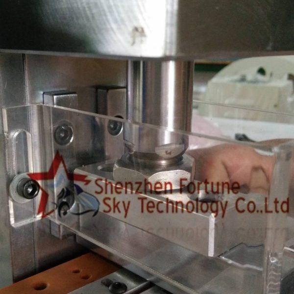 pneumatic idc connector crimping machine