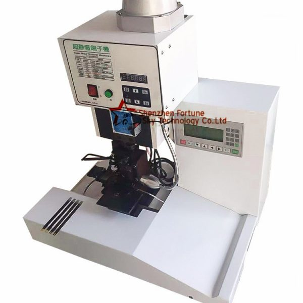 ribbon cable crimping machine with counter