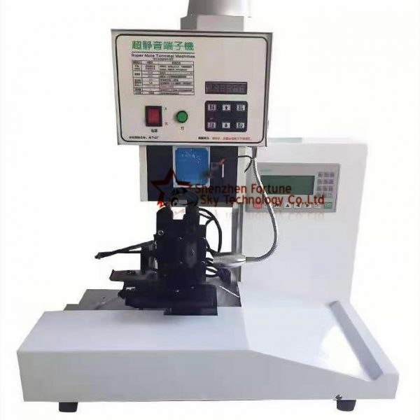 ribbon cable terminal crimping machine with counter