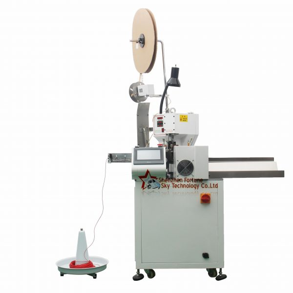 automatic wire cutter terminal machine