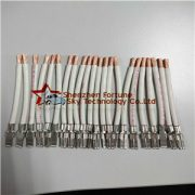 sample wire. of fully automatic wire cutting stripping crimping machine