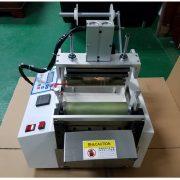 Hot extrusion fully automatic aluminum foil plastic film woven PE bag sealing machine bag making machinec