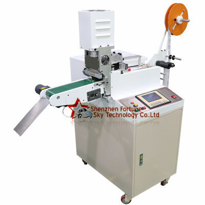 label roll to sheet cutter