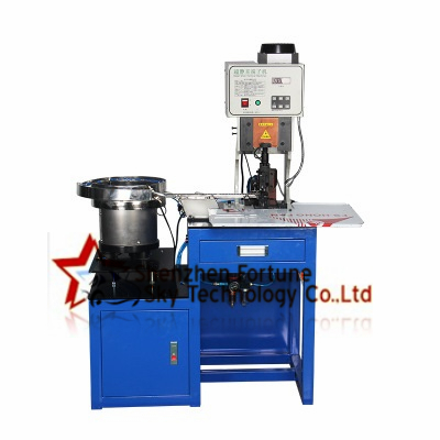 insulated crimp ring terminal wire terminating machine