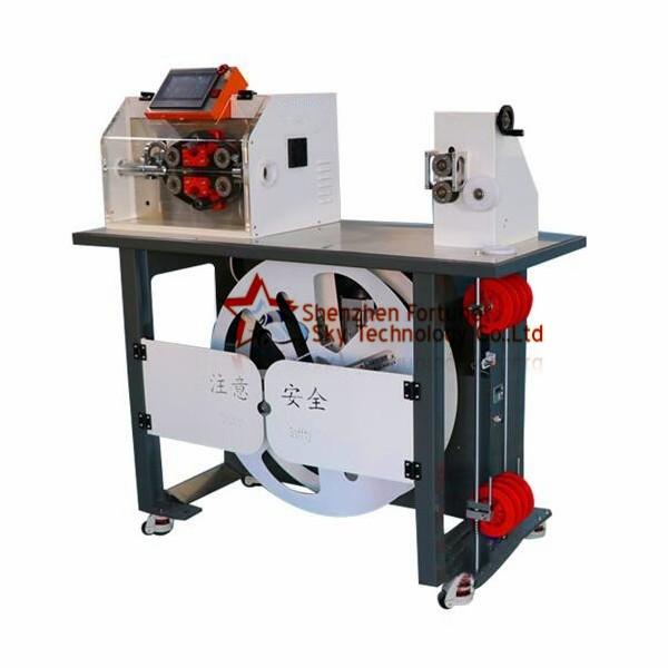 Auto Cut-Open Corrugated Pipe Cutting Feeding Rack Integrated Machine