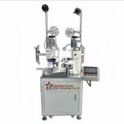 Fully automatic double-ends single wire terminal crimping machine02