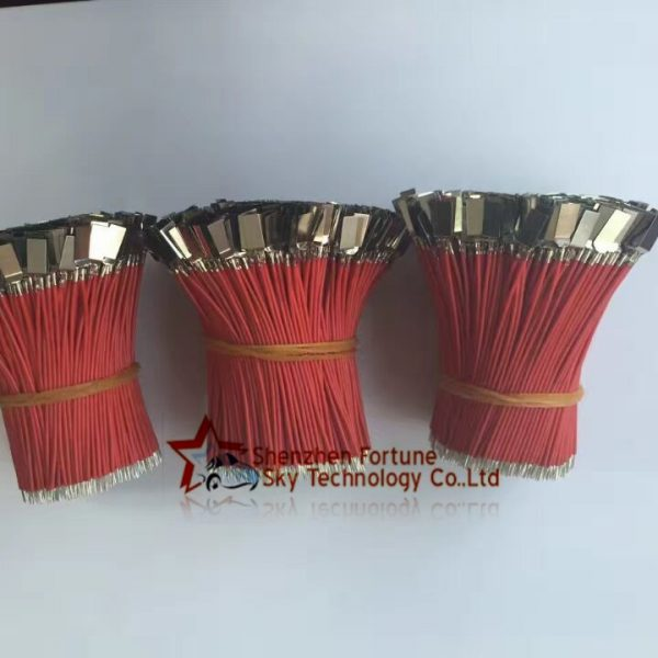 Fully automatic five wires one-end strip crimp one-end strip twist tinning terminator machine