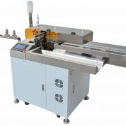 fully automatic wire cutting stripping dip soldering machine01